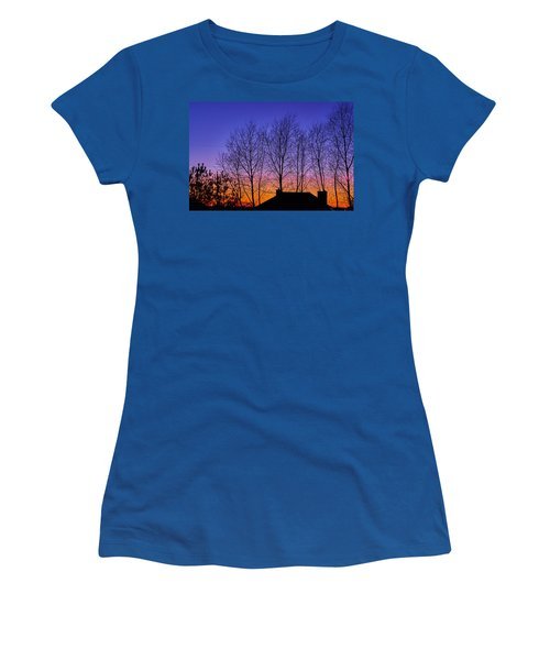 Miami Sky Women's T-Shirt (Athletic Fit)