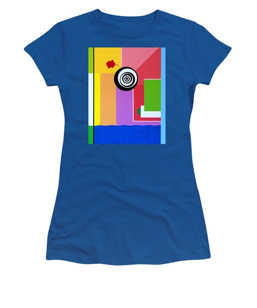 Mid Century Conflict Women's T-Shirt (Athletic Fit)