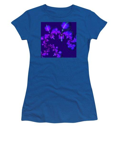 Midnight Blossoms Women's T-Shirt