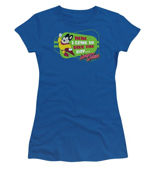 Mighty Mouse - Here I Come Women's T-Shirt