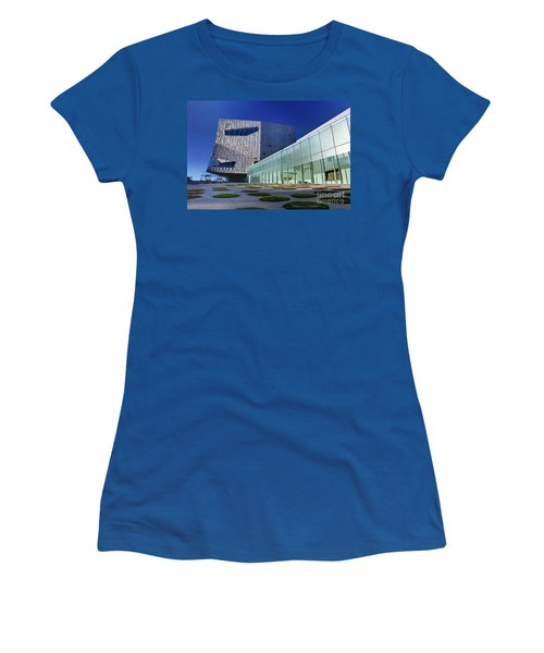 Minneapolis Skyline Photography Walker Art Museum Women's T-Shirt