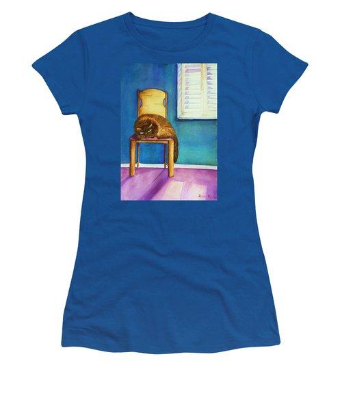 Kitty's Nap Women's T-Shirt