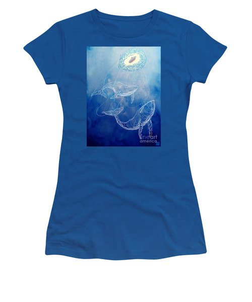 Moby Dick Women's T-Shirt (Athletic Fit)