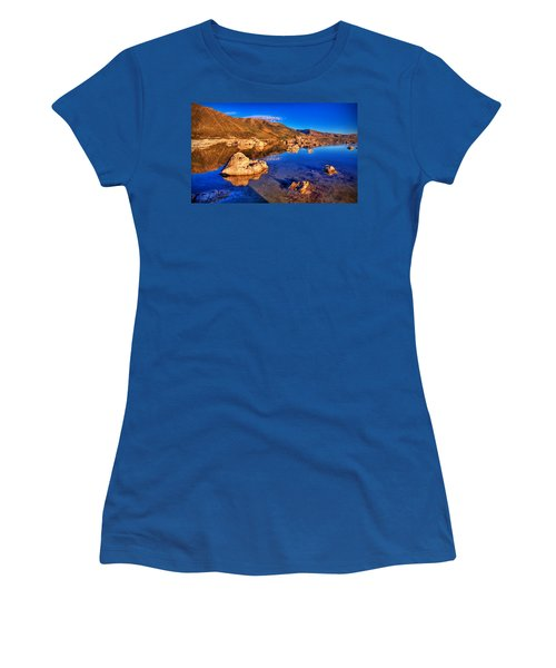 Mono Lake Women's T-Shirt (Athletic Fit)