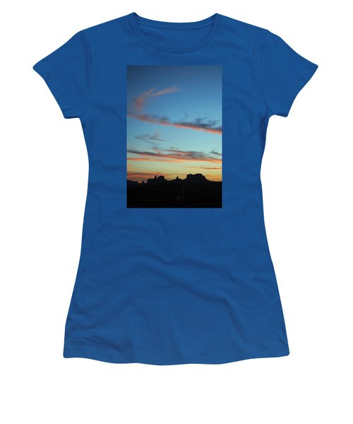 Monument Valley Sunset 3 Women's T-Shirt