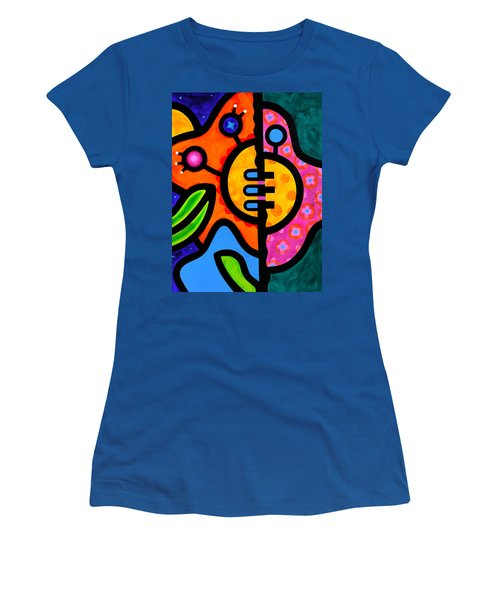 Moon Flower Women's T-Shirt