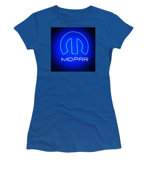 Mopar Neon Sign Women's T-Shirt