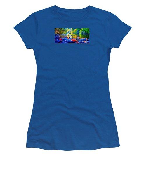 More Realistic Version Women's T-Shirt (Junior Cut) by Catherine Lott