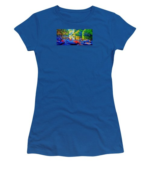 More Realistic Version Women's T-Shirt (Athletic Fit)