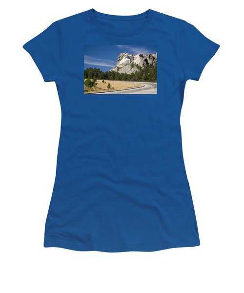 Mount Rushmore Women's T-Shirt (Athletic Fit)