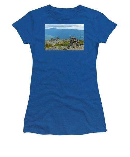 Mount Washington Rock Cairns Women's T-Shirt