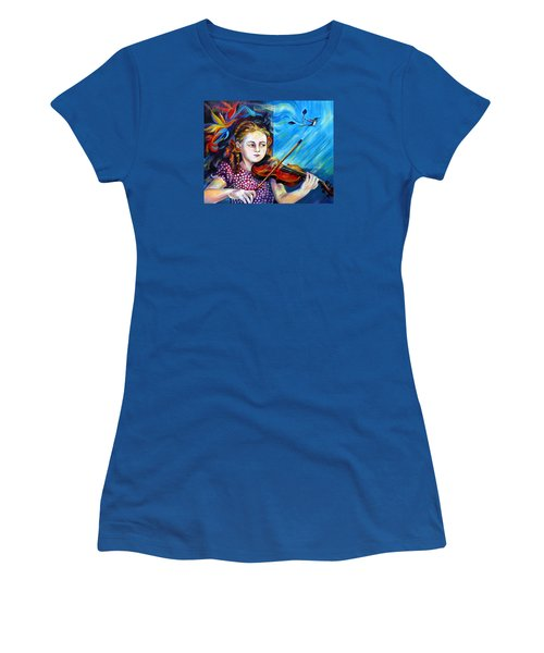 Music Lessons Women's T-Shirt (Junior Cut)