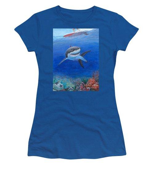 My Pet Shark Women's T-Shirt (Athletic Fit)