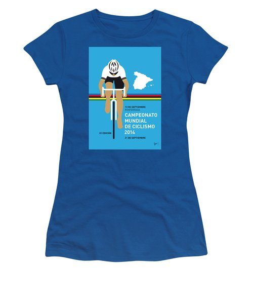 My Uci Road World Championships Minimal Poster 2014 Women's T-Shirt