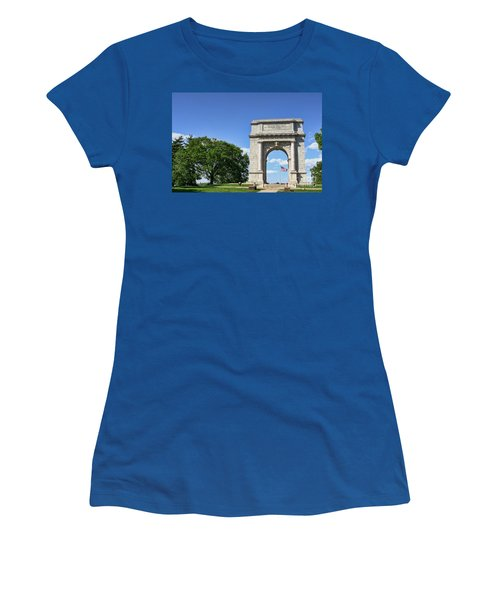 National Memorial Arch At Valley Forge Women's T-Shirt