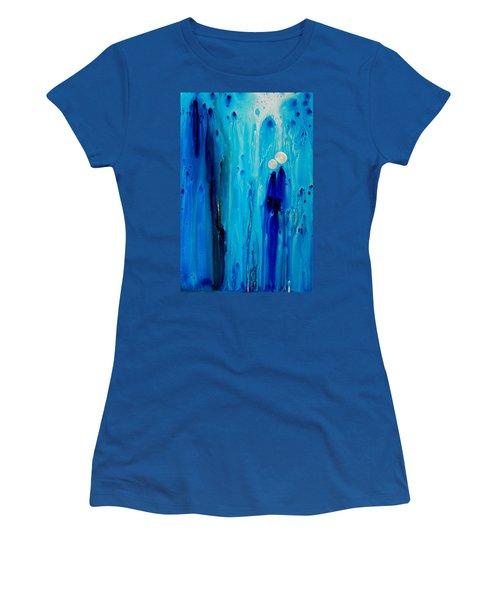 Never Alone By Sharon Cummings Women's T-Shirt