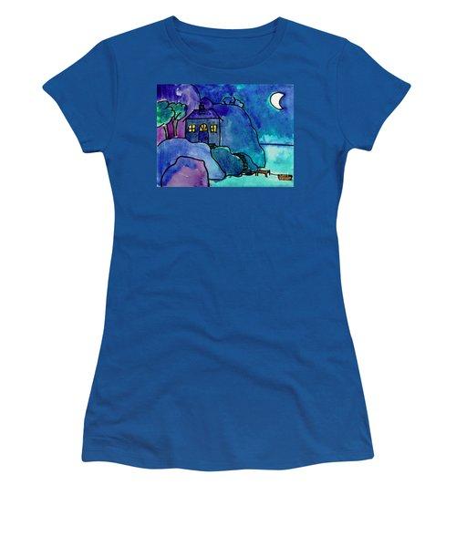 Night Harbor Women's T-Shirt