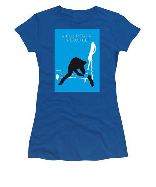 No029 My The Clash Minimal Music Poster Women's T-Shirt