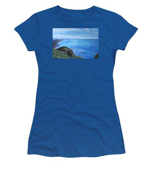 Northern California Coastline Women's T-Shirt