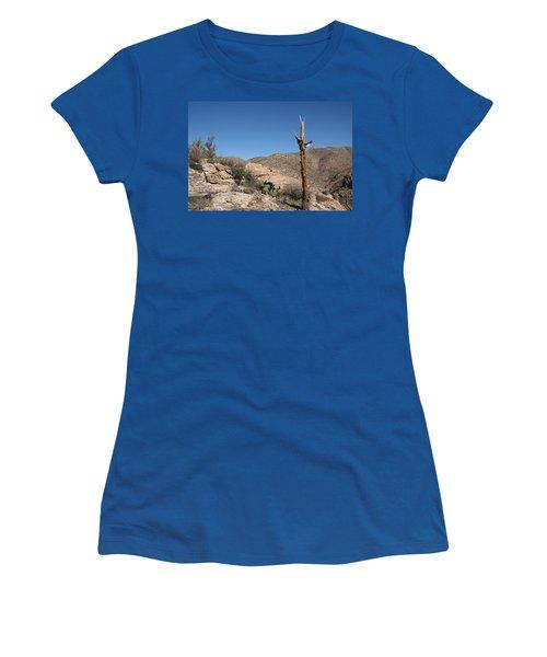 Not Giving Up Yet Women's T-Shirt (Junior Cut) by David S Reynolds