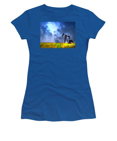 Oil Pump Field Women's T-Shirt