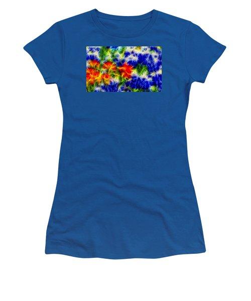 Painted Wildflowers Women's T-Shirt