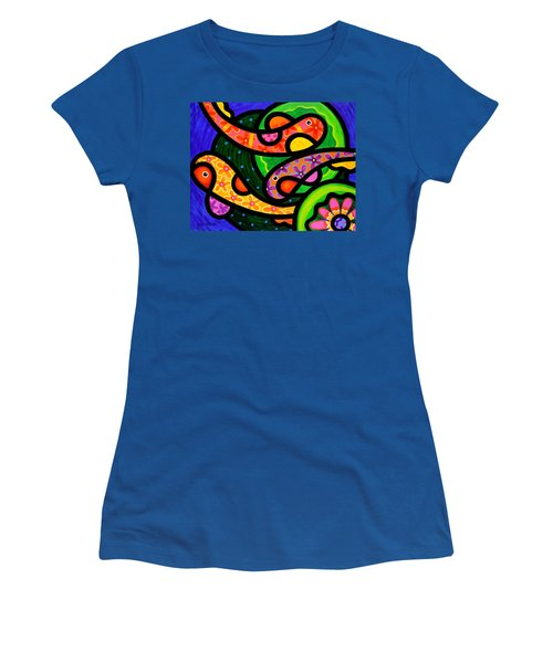 Paisley Pond - Horizontal Women's T-Shirt