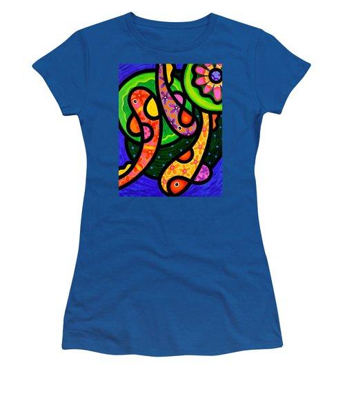 Paisley Pond - Vertical Women's T-Shirt