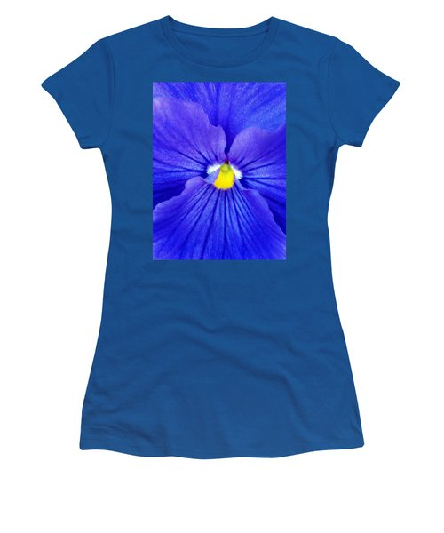 Pansy Flower 37 Women's T-Shirt (Athletic Fit)
