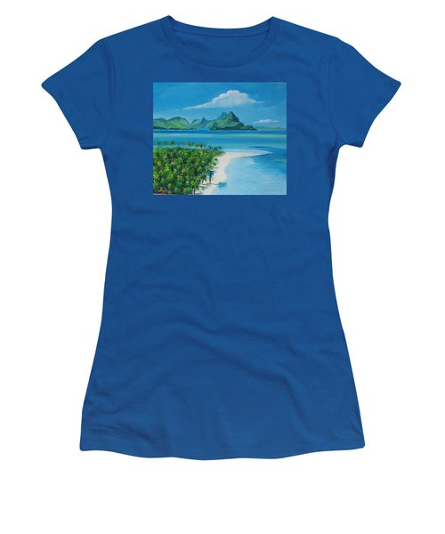 Papeete Bay In Tahiti Women's T-Shirt
