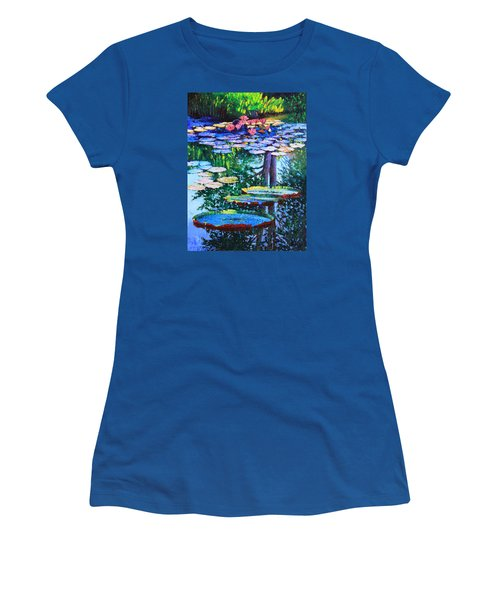 Passion For Color And Light Women's T-Shirt (Junior Cut) by John Lautermilch
