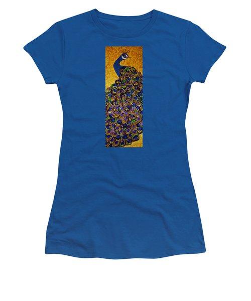Peacock Blue Women's T-Shirt