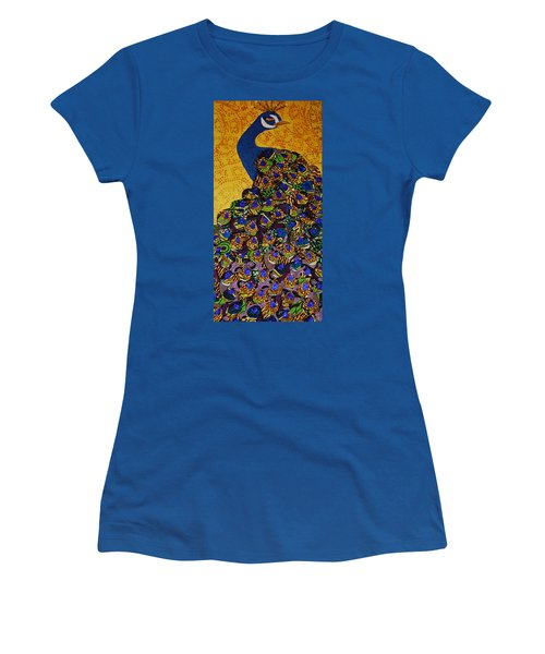 Peacock Blue Women's T-Shirt