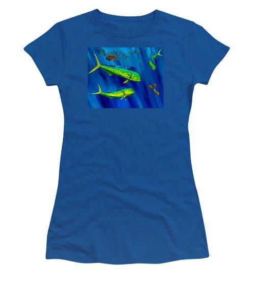 Peanut Gallery Women's T-Shirt (Junior Cut) by Steve Ozment