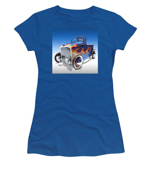 Peddle Car Women's T-Shirt (Athletic Fit)