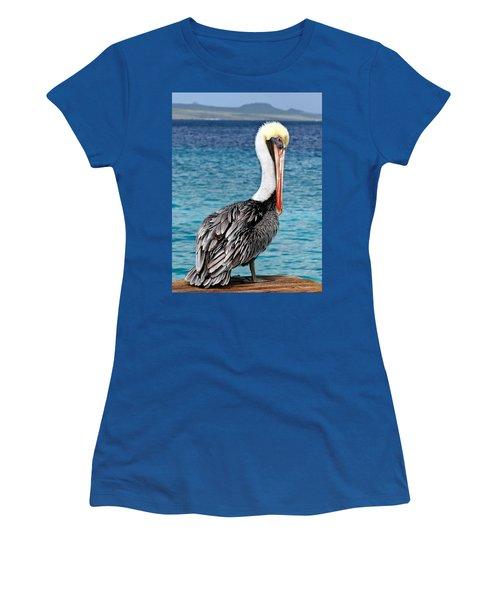 Pelican Portrait Women's T-Shirt (Athletic Fit)