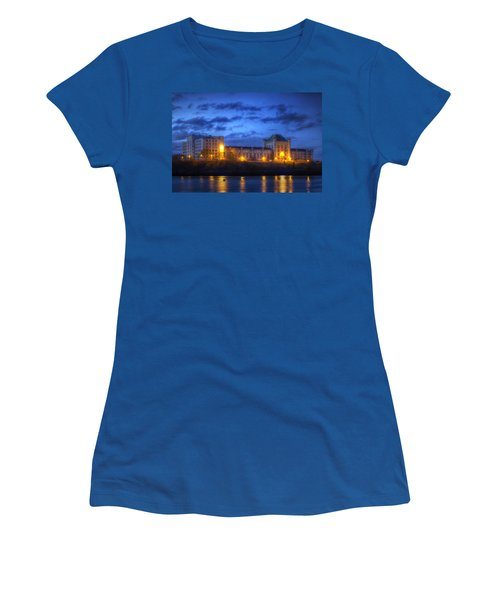 Portsmouth Naval Prison Women's T-Shirt (Athletic Fit)