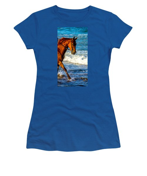 Prancing In The Sea Women's T-Shirt (Athletic Fit)