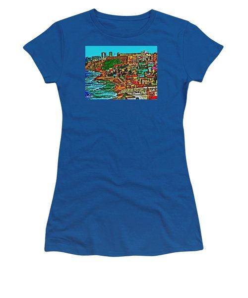 Puerto Rico Old San Juan  Women's T-Shirt (Athletic Fit)