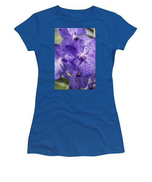 Purple Orchids Women's T-Shirt