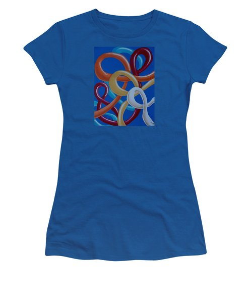 Ribbons In The Sky Women's T-Shirt (Athletic Fit)