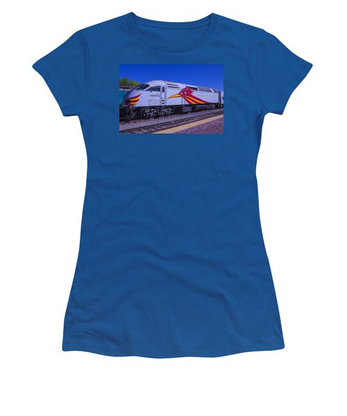 Road Runner Express Train Women's T-Shirt (Athletic Fit)