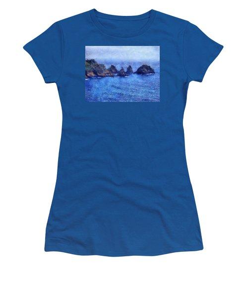 Rocks On Isle Of Guernsey Women's T-Shirt