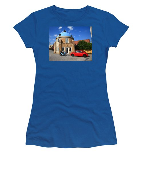 Route 66 - Blue Dome Of Tulsa Women's T-Shirt