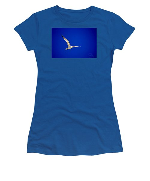 Women's T-Shirt featuring the photograph Royal Tern 2 by Ludwig Keck