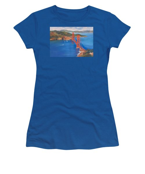 San Francisco Bay Bridge Women's T-Shirt