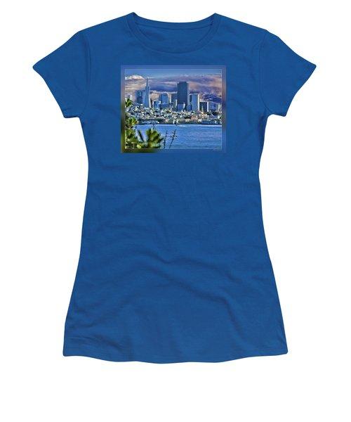 San Francisco From Alcatraz Women's T-Shirt