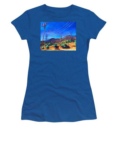 San Gabriel Power Women's T-Shirt (Athletic Fit)