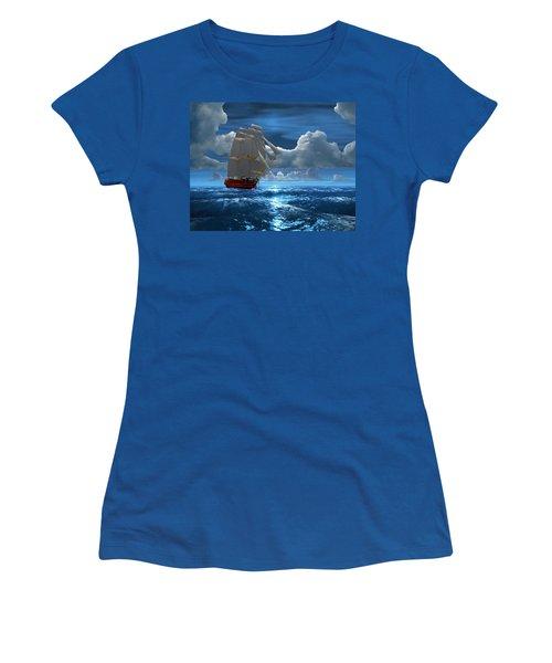 Santisima Trinida In The Moonlight Women's T-Shirt