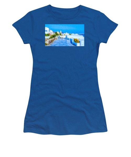 Santorini Grk4120 Women's T-Shirt